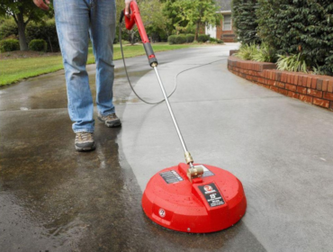 L r pressure washers rentals repair services for Best way to power wash concrete